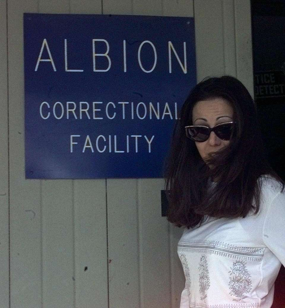 Amy Fisher gets out at Albion Prison in