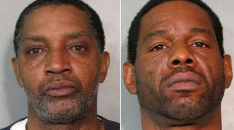 Edward Henson, 56, left, and Andrew Ivory, 45,