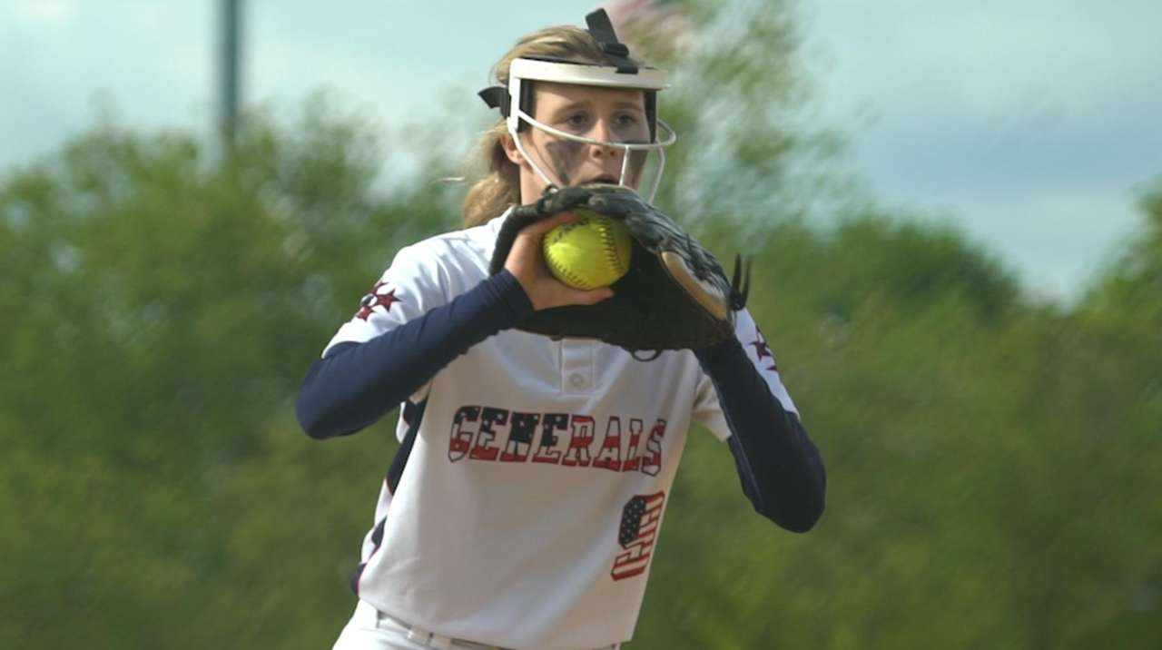 Softball pitchers turning to protective facemasks
