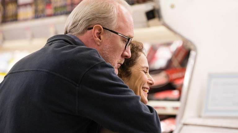 Tracy Letts and Debra Winger in