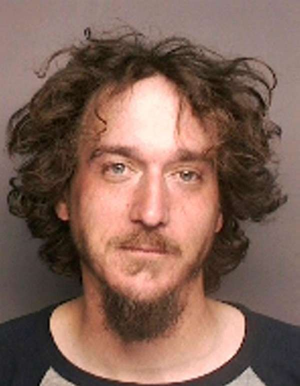 Ryan Osborne, 30, was arrested by Riverhead Town