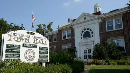 North Hempstead Town Hall in Manhasset on Sept.