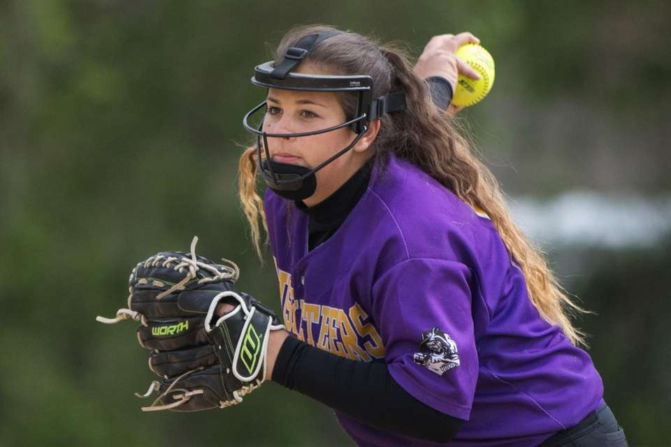 Sophmore and varsity softball team pitcher Haley Lomax
