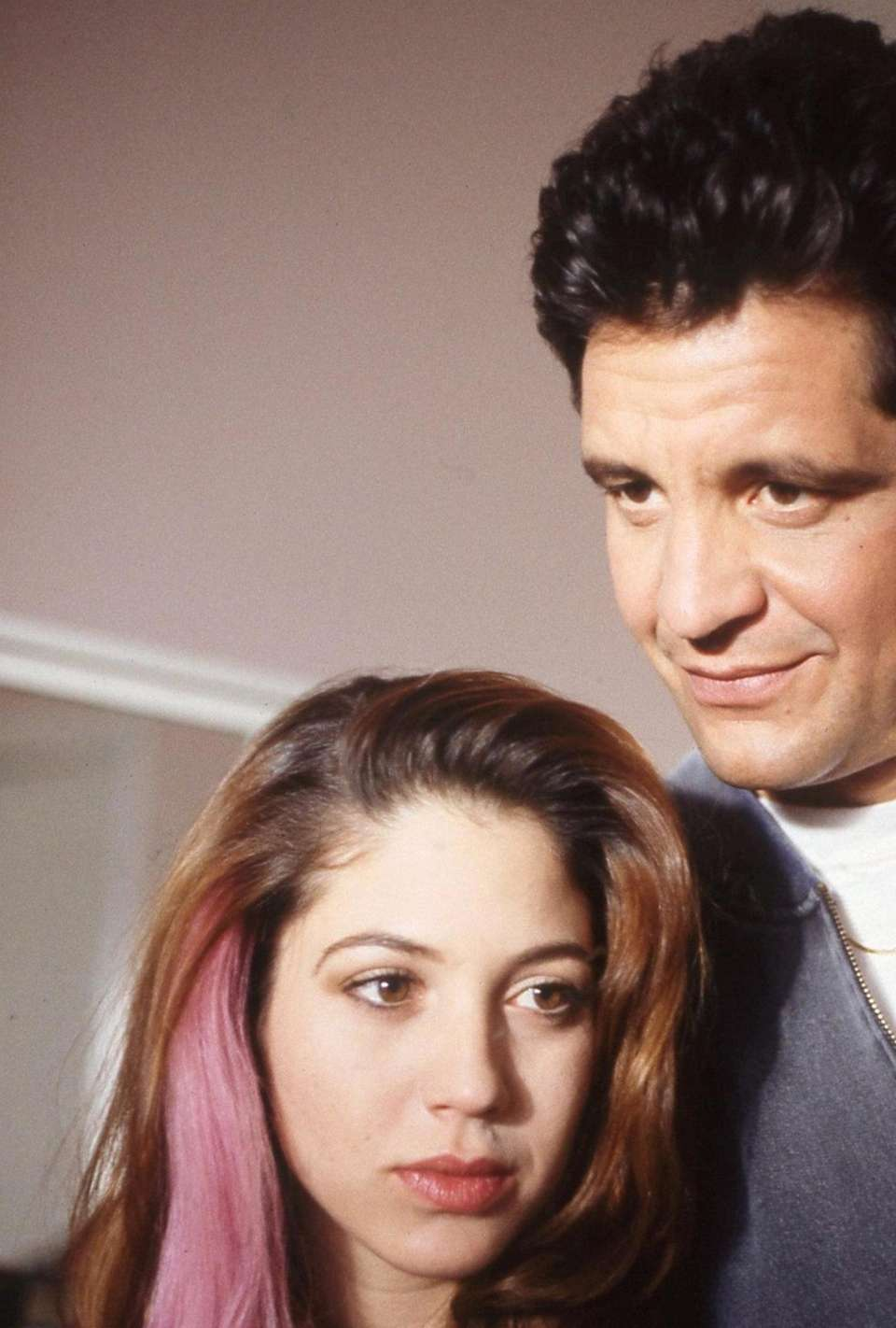 Noelle Parker played Amy Fisher, with Ed Marinaro