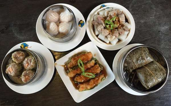 Dim sum was served at Golden Temple II