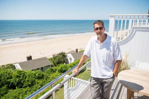 George Filopoulos, president of Gurney's Montauk Resort &