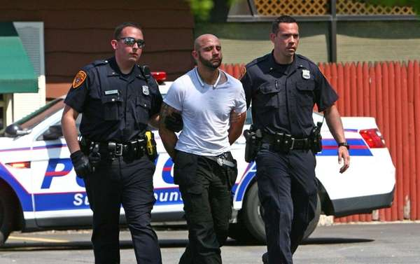 Suffolk County Police arrest Maximilian Beres, 29, of