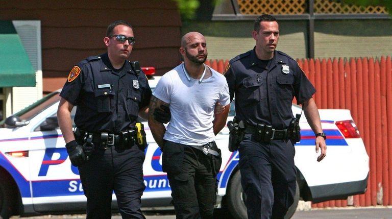 Suffolk County Police arrest Maximilian Beres, 29, of