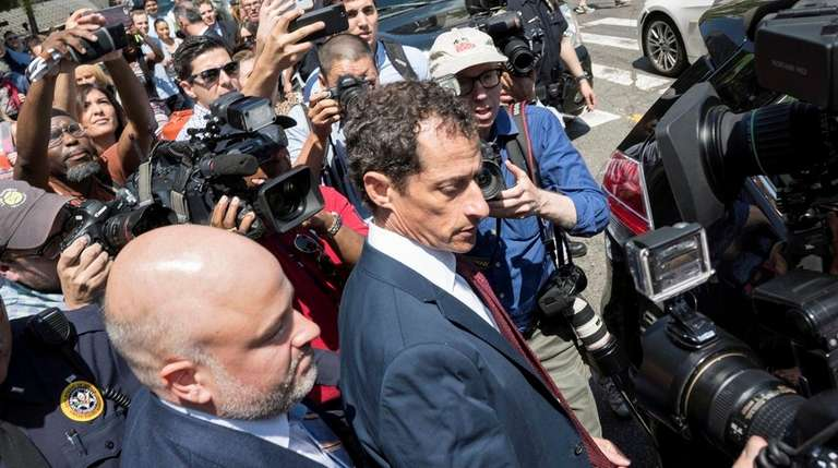 Anthony Weiner, the former Democratic congressman whose