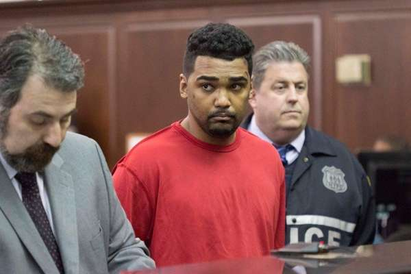 Richard Rojas, 26, of the Bronx, was arraigned