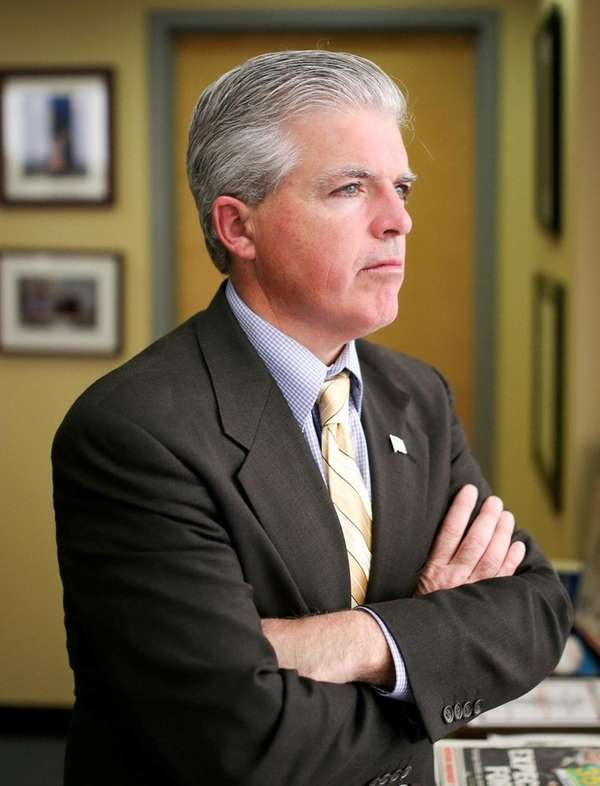 Suffolk County Executive Steve Bellone has sent out