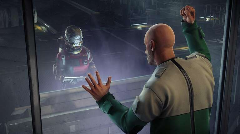 Players in Prey fight monsters who roam a
