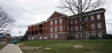 The Northport VA Medical Center, shown Wednesday, April
