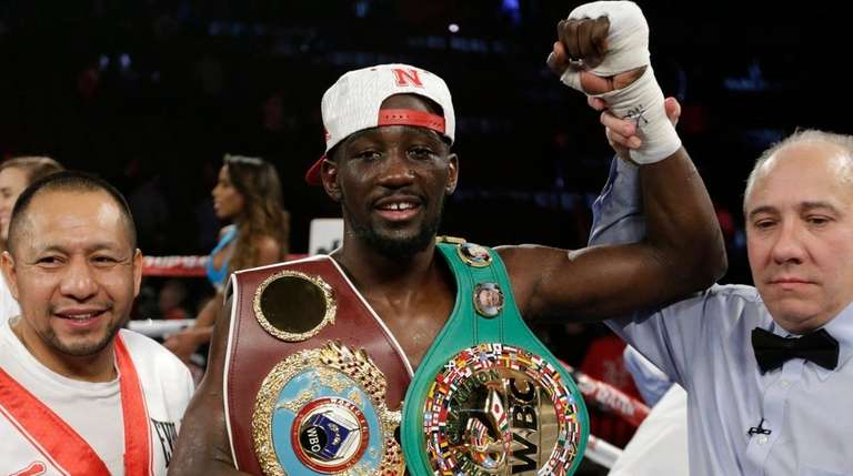Terence Crawford is declared winner over John Molina