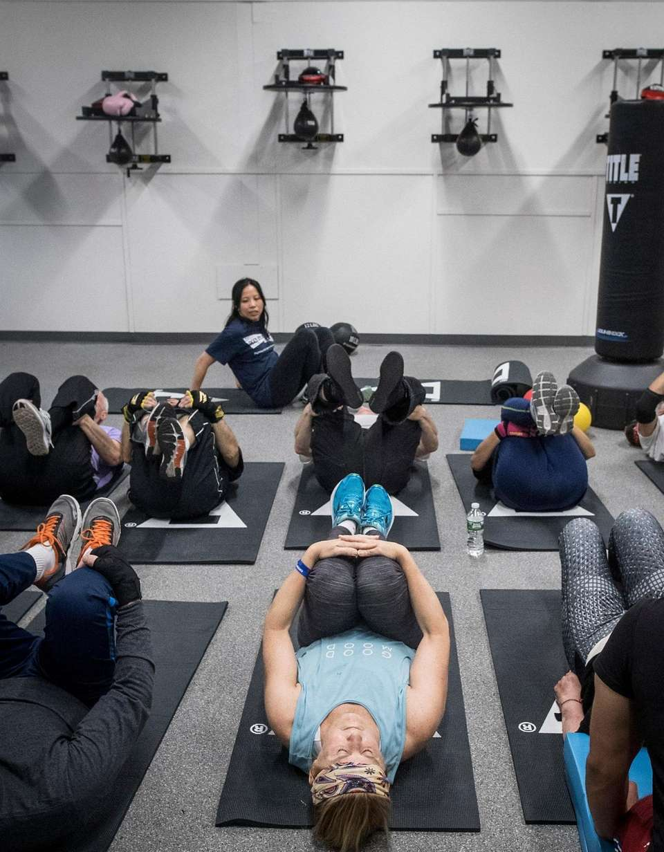 Boxers strengthen core muscles and improve flexibility during
