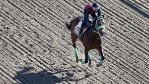 Conquest Mo Money trains on the track for