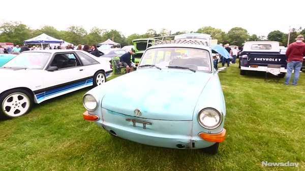 Newsday hosted its annual Field of Wheels Exhibition