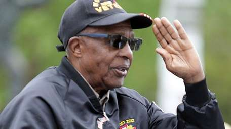 World War II veteran Elijah McKelvin, 91, of