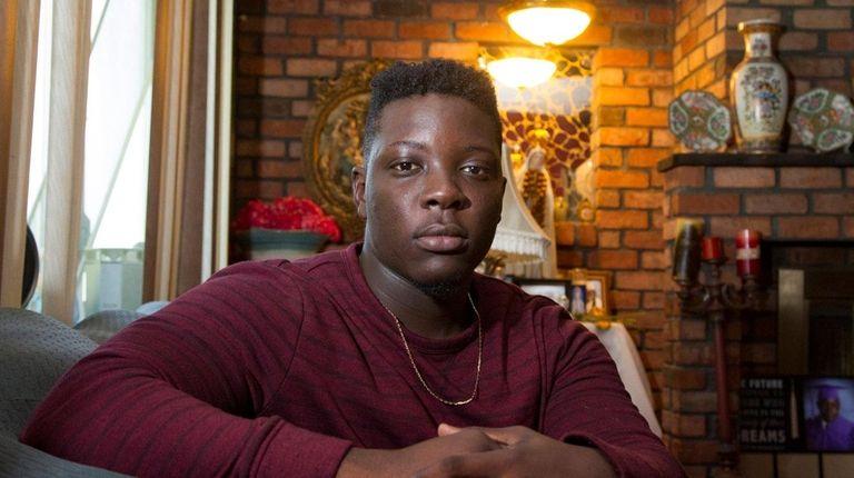 Stephane Rony Casseus, 19, of Elmont, is among