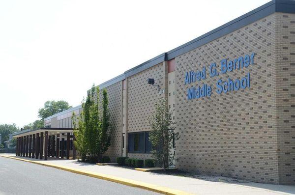 Alfred G. Berner Middle School in the Massapequa
