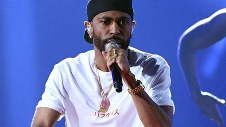 Rapper Big Sean, seen here at his 2017