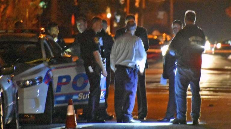 Suffolk County police are investigating the fatal stabbing
