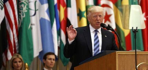 President Donald Trump said terrorism is the common