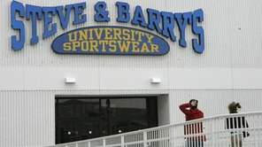 Steve & Barry's, which was headquartered in Port