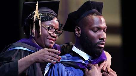 Touro Law Center graduate Jumobi Damian Agwu is