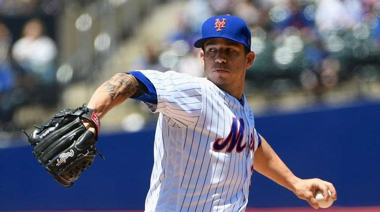 Mets starting pitcher Tommy Milone got racked in