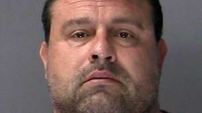 Eric Lombardi, 44, was arrested by Suffolk County