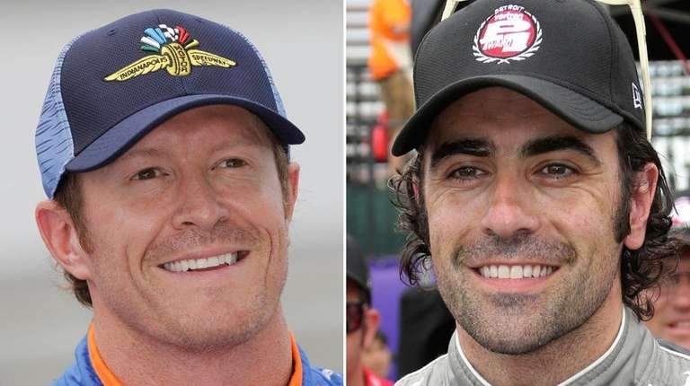 Police say Indianapolis 500 pole-sitter Scott Dixon and