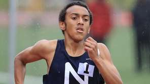 Isaiah Claiborne of Northport won the 800 meter