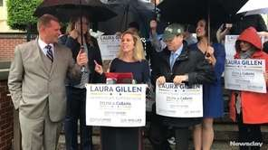 Democrats formally unveiled their Hempstead Town slate of