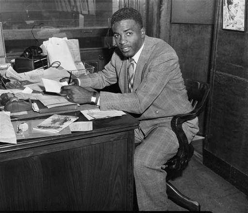 It is true Jackie Robinson was a 28-year-old