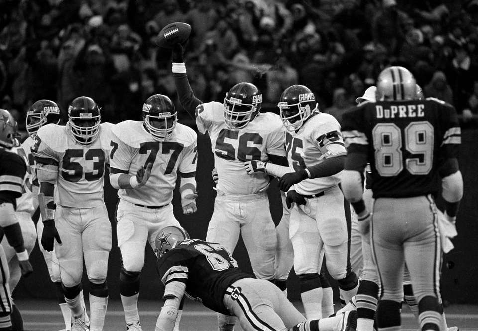 Lawrence Taylor was credited with 9 1/2 sacks