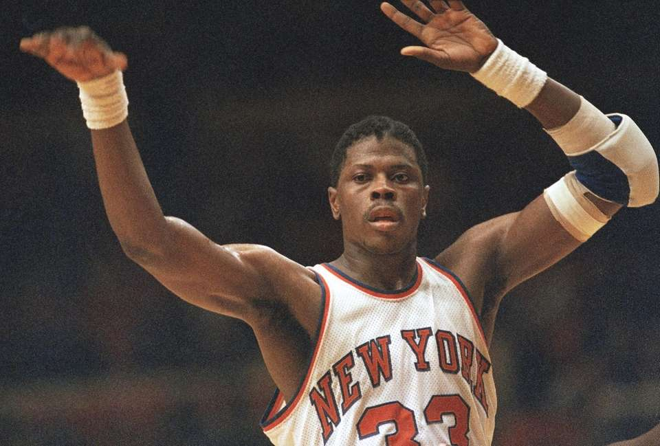 Injuries limited Patrick Ewing to 50 games as