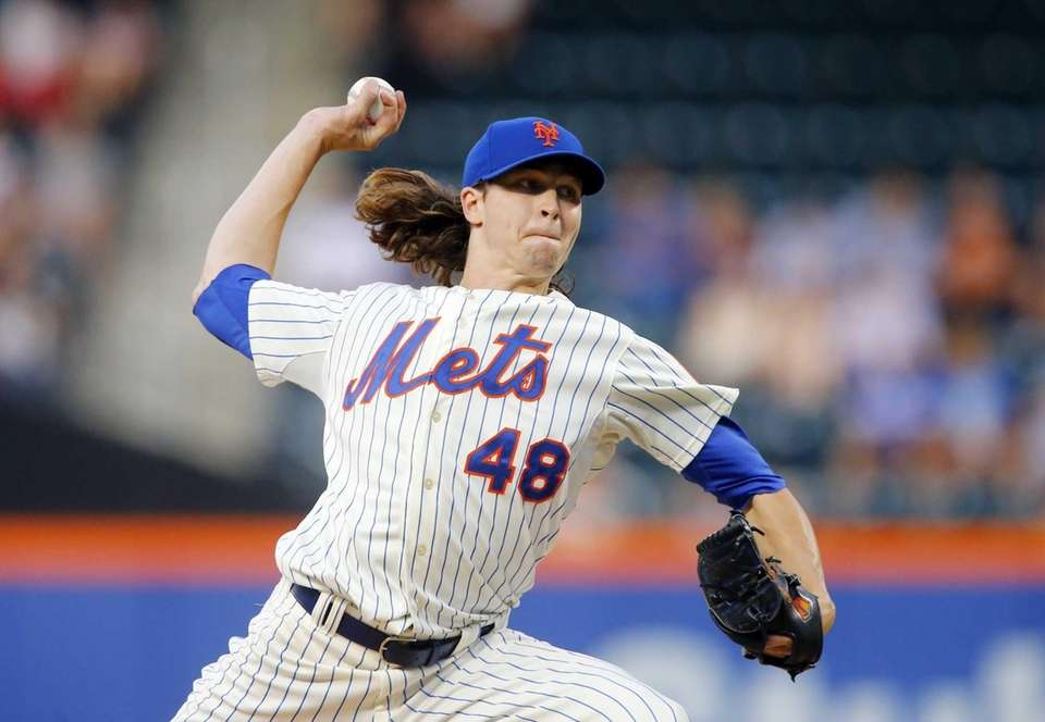 Little was expected of deGrom when he joined