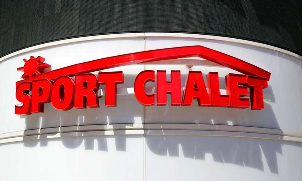 Sport Chalet was a sporting goods chain that