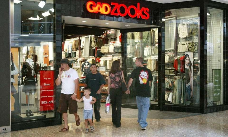 Gadzooks was founded in 1983 as a T-shirt