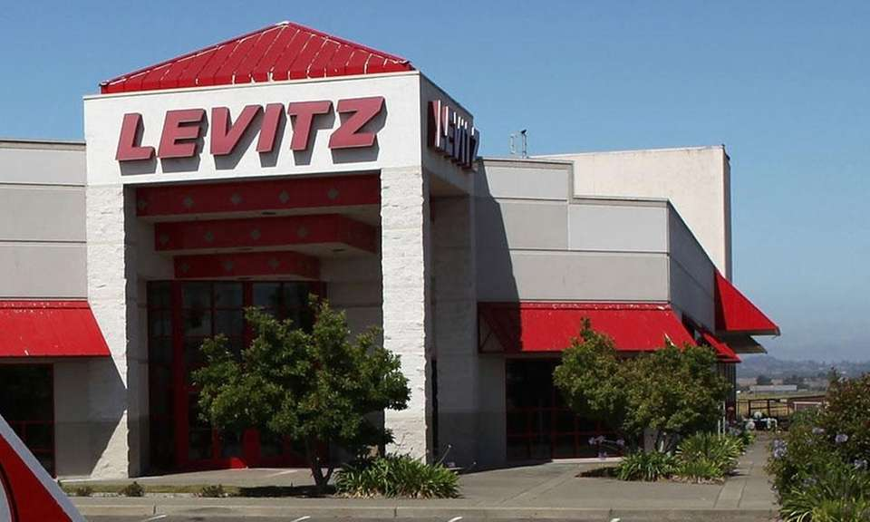 Levitz Furniture was founded in 1910 in Pennsylvania