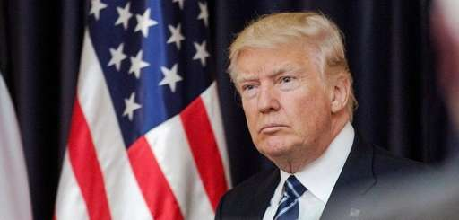 Not only does President Donald Trump flatly deny