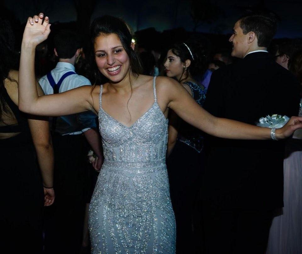 Patchogue-Medford High School junior Ellie Scalzo danced the