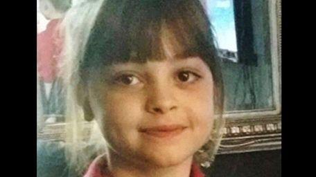 Saffie Roussos, 8, seen in an undated photo,