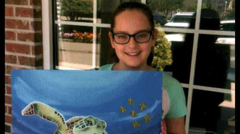 art camp at the painted canvas studio in wading river newsday