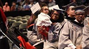 Yacinyah Cayemitte, 21, of Elmont, attends her graduation
