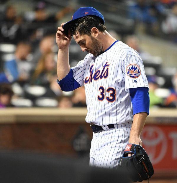 New York Mets starting pitcher Matt Harvey returns