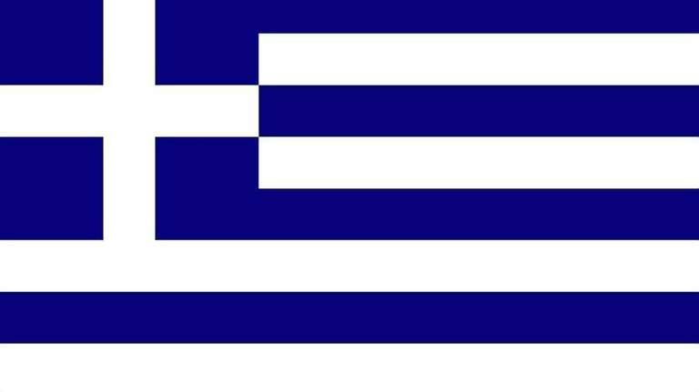 2008 -- The flag of Greece