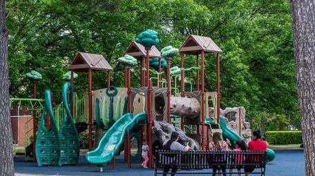 The Kennedy Memorial Park in Hempstead, seen here