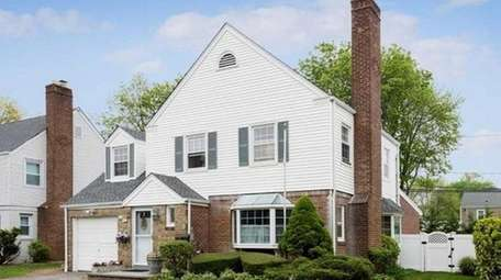 This three-bedroom Colonial, on the market in May